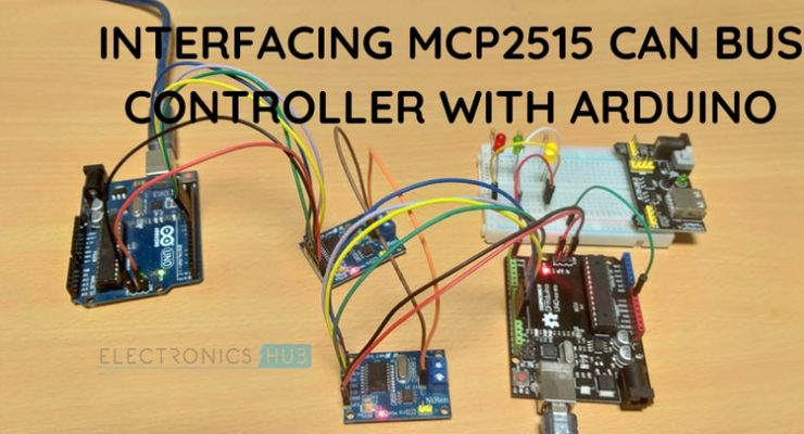 Arduino MCP2515 CAN Bus Interface Featured Image