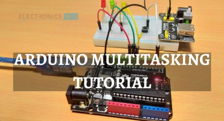 Arduino Multitasking Tutorial Featured Image