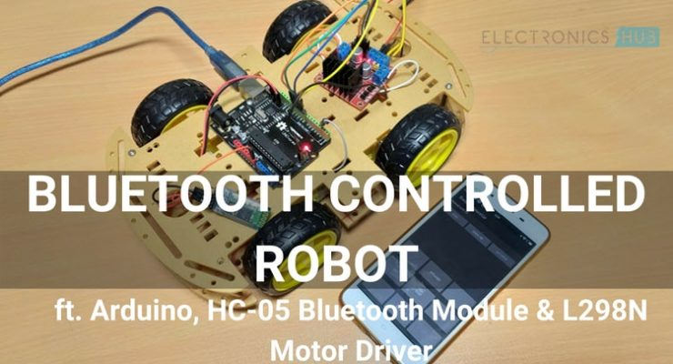 Bluetooth Controlled Robot using Arduino Featured Image