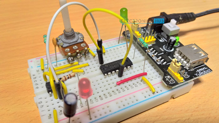 How To Make A Simple Frequency Counter Circuit Electronic Circuit