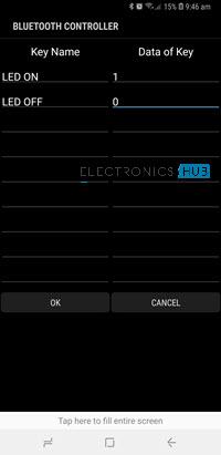 HC-05 Bluetooth Module Bluetooth Controller App Screenshot 2