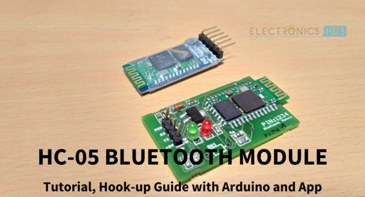 HC-05 Bluetooth Module Featured Image