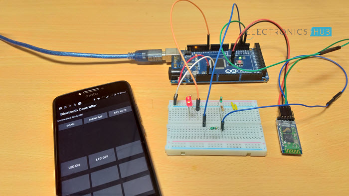 HC-05 Bluetooth Module - Tutorial, Arduino Interface - Tutorial