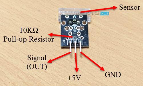 Knock Sensor with Arduino Knock Sensor Pins