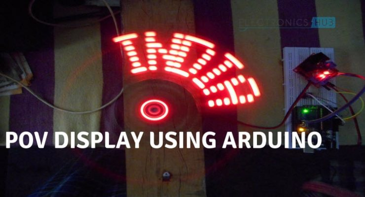 POV Display using Arduino Nano Featured Image