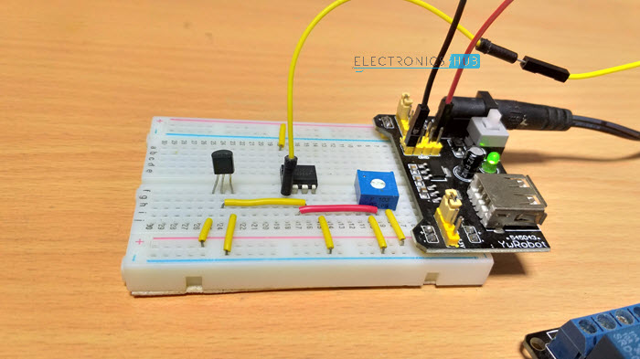 Temperature Controlled Switch using LM35 Circuit Design