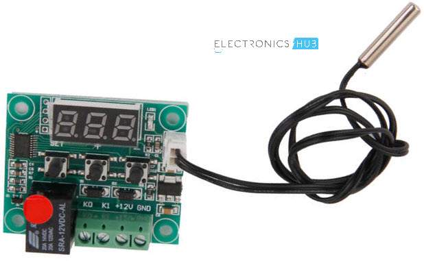 Temperature Controlled Switch using LM35 Commercial