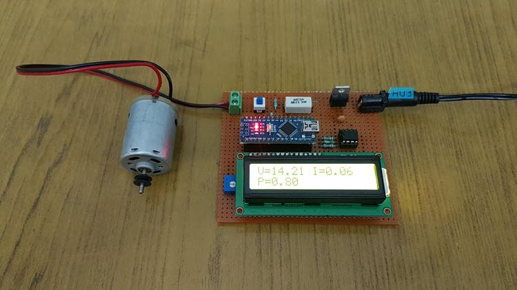Arduino Wattmeter Image 1