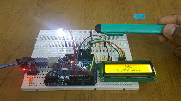 Auto Intensity Control of Street Lights using Arduino Image 1