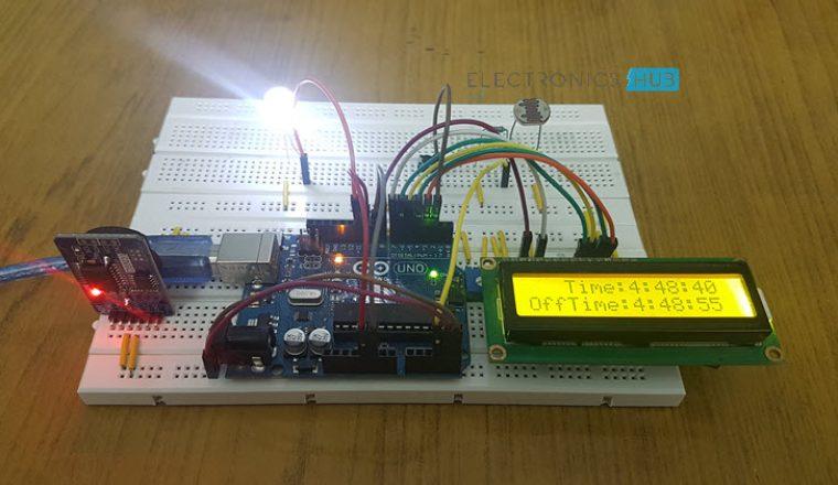 Auto Intensity Control of Street Lights using Arduino Image 4