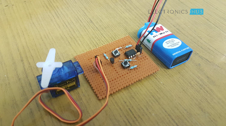 How to make a Simple Servo Motor Tester Circuit Image 3