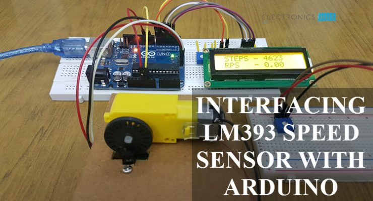 Interfacing LM393 Speed Sensor with Arduino Featured Image
