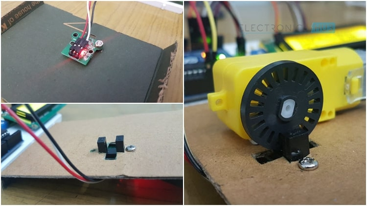 Interfacing LM393 Speed Sensor with Arduino Sensor Encoder Wheel