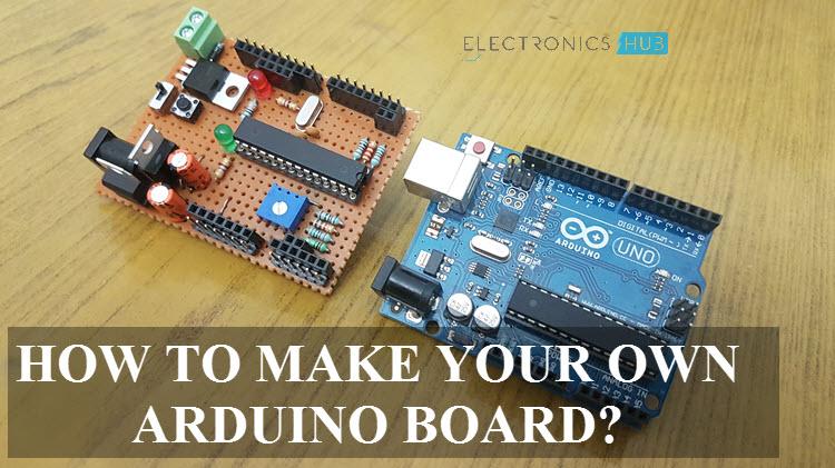 make your own arduino board a diy tutorialHow To Make Your Own Arduino Board Use Arduino For Projects #5