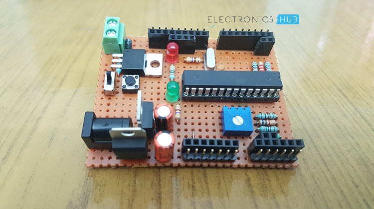 how to create your own arduino board