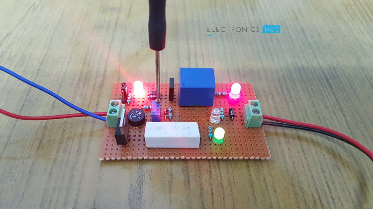 Lead Acid Battery Charger Circuit Calibrating
