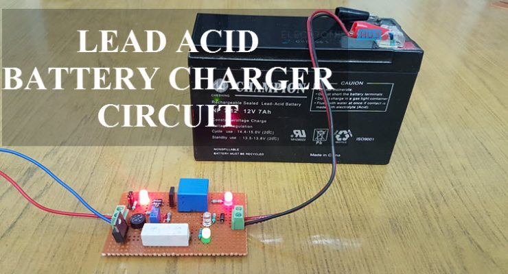 Lead Acid Battery Charger Circuit Featured Image