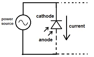 Photodiode Circuit Connection