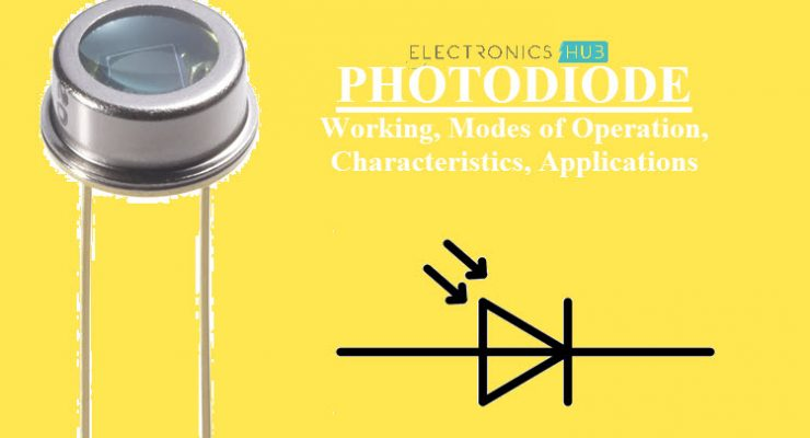 What is a Photodiode? Working, Characteristics, Applications