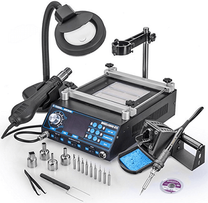 Top 10 Best Soldering Stations in 2018 Reviews