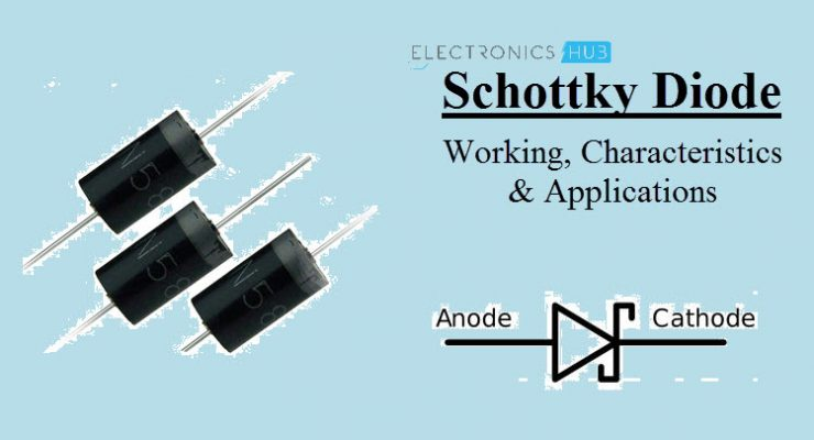 Schottky Diode – Working, Characteristics, Applications