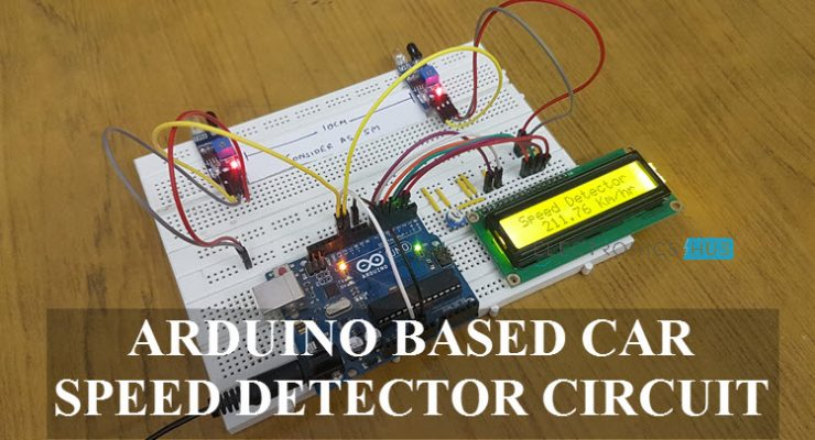 Arduino Car Speed Detector Featured Image