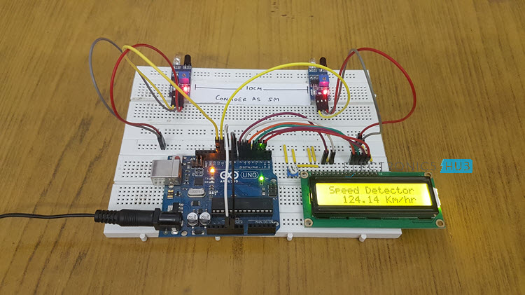 Arduino Car Speed Detector Image 1