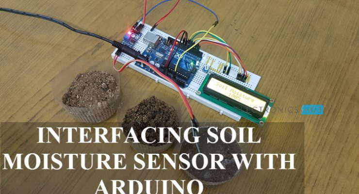 Interfacing Soil Moisture Sensor with Arduino Featured Image