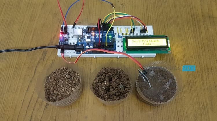 Interfacing Soil Moisture Sensor with Arduino Sensor Image 3