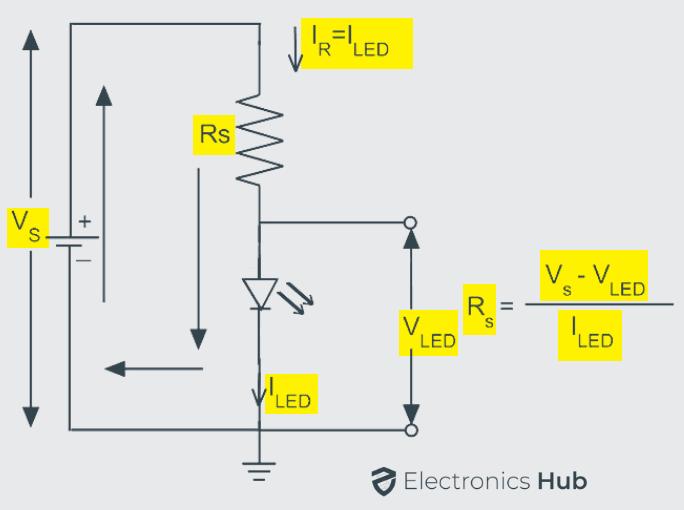 LED Series Resistor Circuit