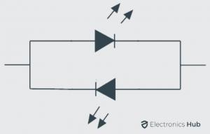 Two LED Light Colors using Single Circuit