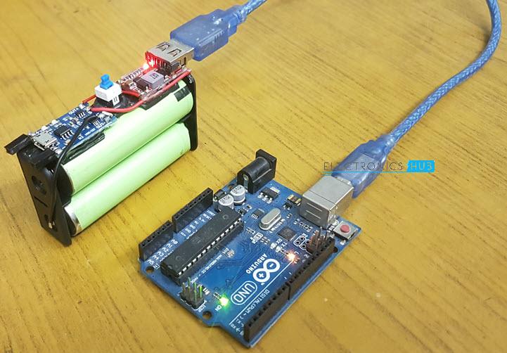18650 Batterie LI-ION /& Support /& Chargeur Module Pour Arm Pic Arduino Rpi
