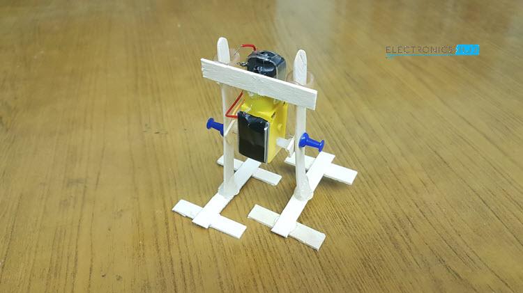 Simple DIY Walking Robot Final Structure