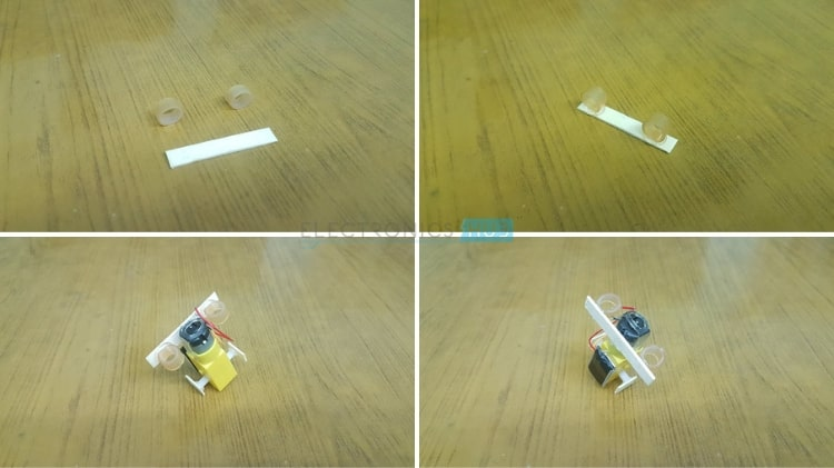 Simple DIY Walking Robot Motor Rubber Sleeve