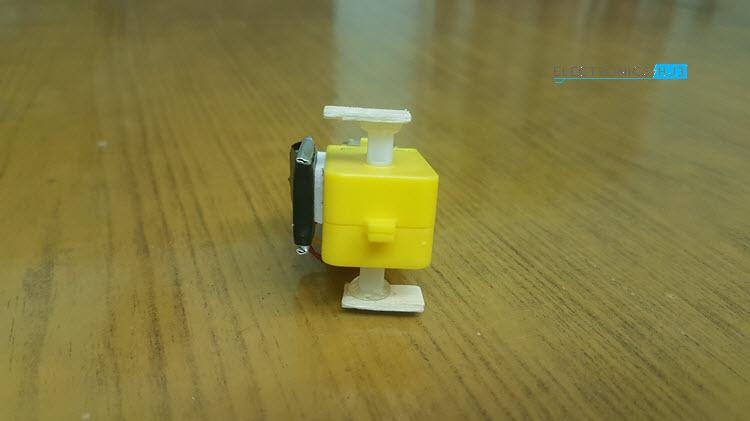 Simple DIY Walking Robot Motor with Sticks