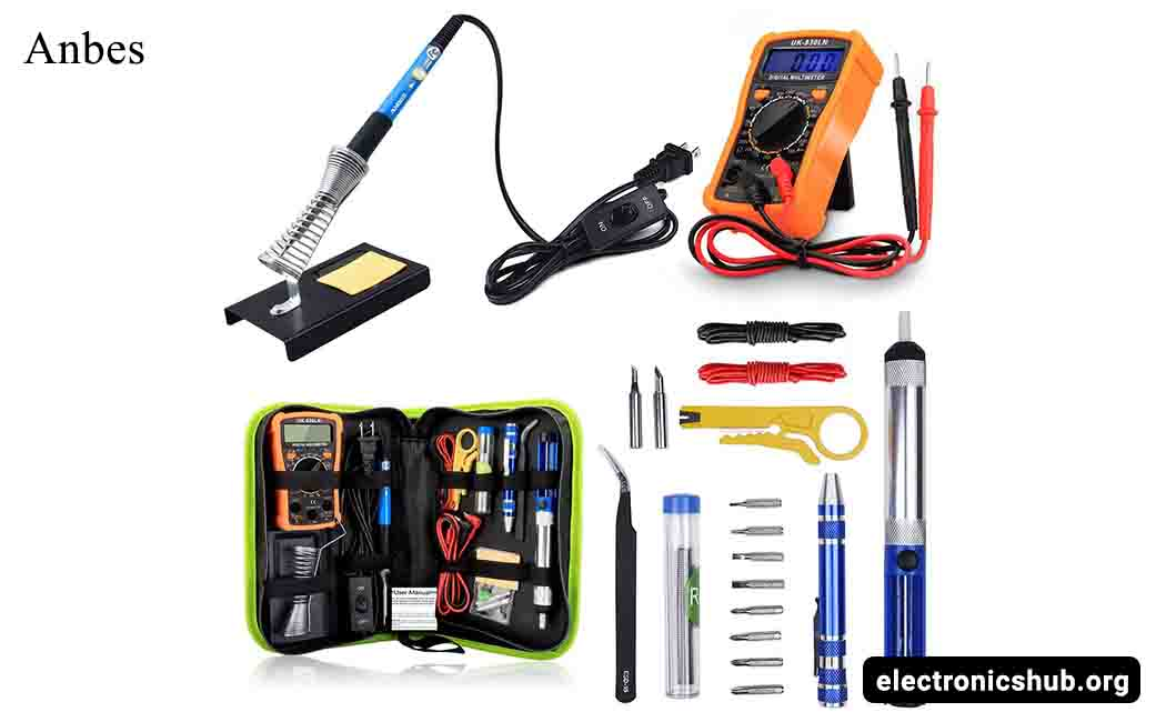 anbes soldering iron kit