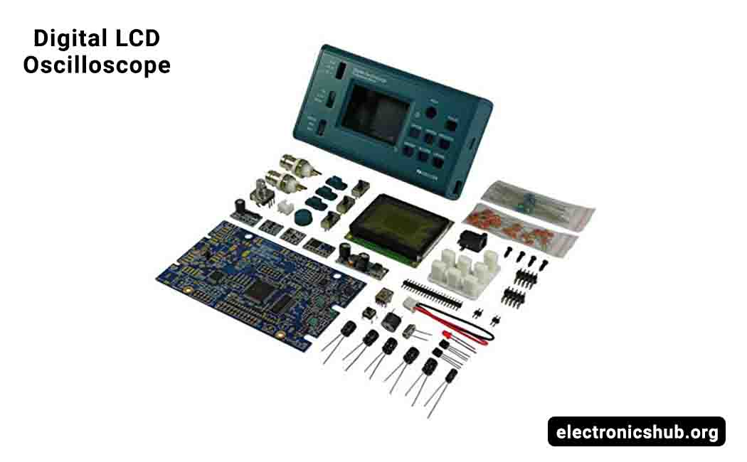 Davitu DIY Electronic Kits JYETech Original DSO068 DIY Oscilloscope Kit With Digital Storage Frequency Meter ATmega64 AVR Microcontrol