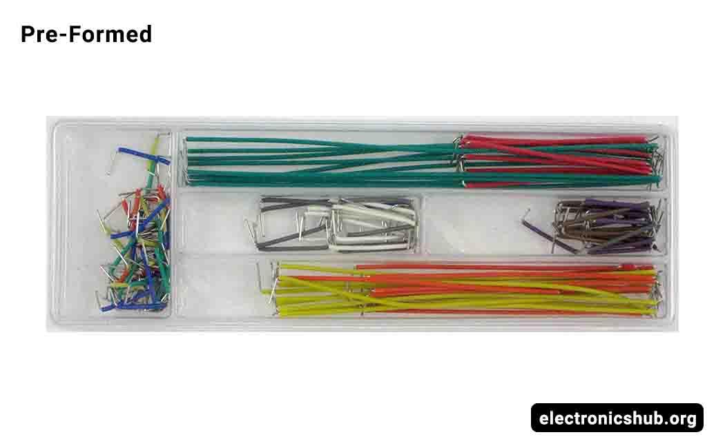 AUSTOR 840 Pieces Preformed Breadboard Jumper Wire Kit 14 Lengths Assorted Jumpe