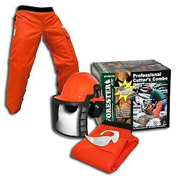 Forester OEM Arborist Forestry Professional Cutter's Combo Kit Chaps