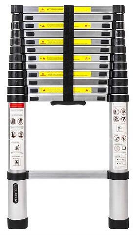 Luisladders Aluminum Telescopic Ladder