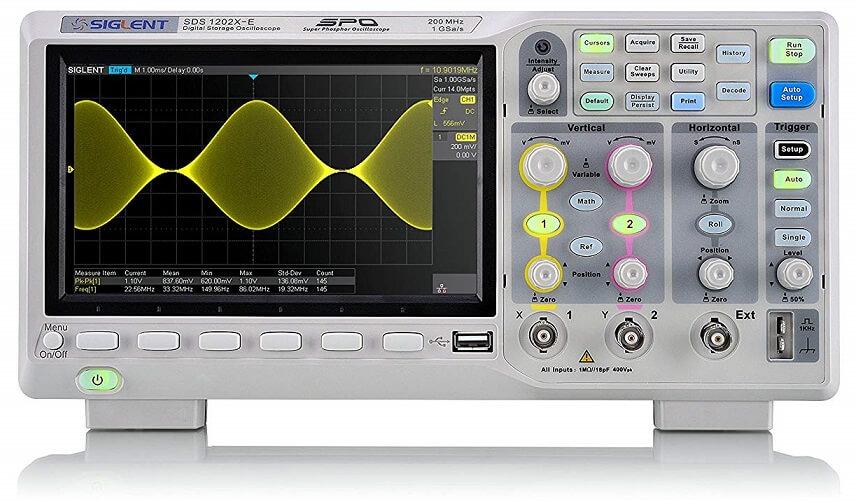 Siglent Technologies SDS1202X-E Generator