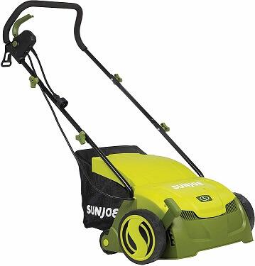 Sun Joe AJ801E 13 in. 12 Amp Electric Scarifier + Lawn Dethatcher