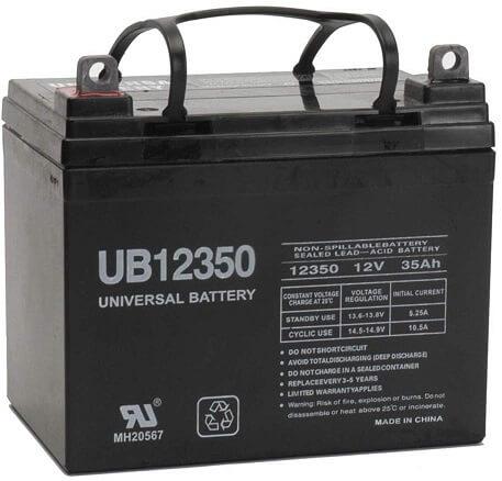 Universal Power Group 12V 35 Ah UB12350 Battery