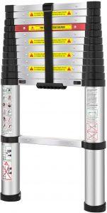 WolfWise Aluminum Telescopic Extension Multi-Purpose Ladder