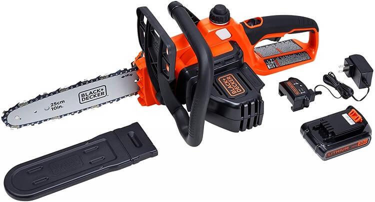 BLACKDECKER Cordless Chainsaw