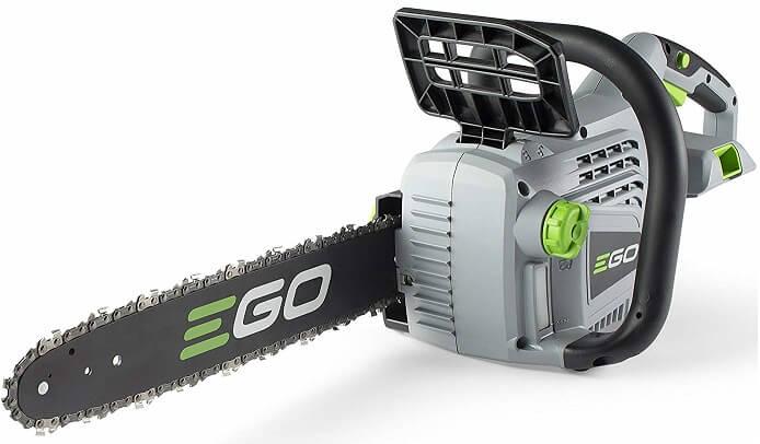 EGO Power cordless chainsaw