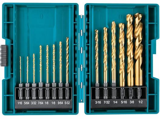 Makita Titanium Drill Bit Set