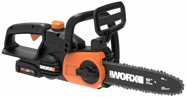 Worx WG322 20V Cordless Chainsaw