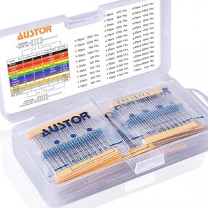 AUSTOR 1050 Pieces Resistor Kit