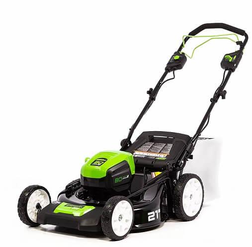 Greenworks cordlesslawn mower